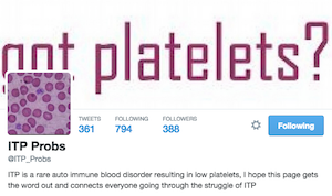 twitter itp, low Platelets, platelets low, platelet count, what is itp, low platelet counts, itp blood, itp platelets, itp blood disease, itp autoimmune disease, itp blogs, blogs about itp, bleeding disorder